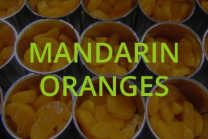 Mandarin Oranges cans